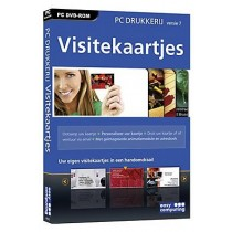 DVD-ROM GRAFISCHE SOFTWARE - PC DRUKKERIJ 7 VISITEKAARTJES