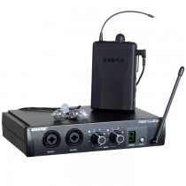 SHURE PSM 200 + SE215-CL (EP2TR215CL) - MONITORSYSTEEM IN-EAR DRAADLOOS