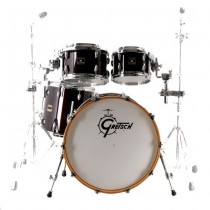 GRETSCH RENOWN MAPLE RN-E824Q-DWG DARK WALNUT 555-0125-312 - STANDARD SET 4-DELIG 22/16/12/10""
