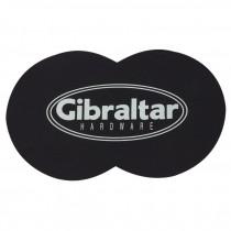 Vinyl plakker voor bescherming tegen dubbel pedaal op bassdrumvel.
