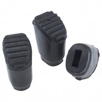 Gibraltar SC-PC07 grote rubber doppen voor poten van bijvoorbeeld een bekken standaard