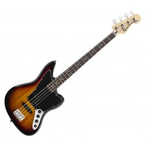 Squeir Vintage Modified Jaguar basgitaar in drie kleuren sunburst.