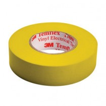 SCOTCH 3M TEMFLEX 1500 - ISOLATIETAPE GEEL 15X0.15MM 10MTR