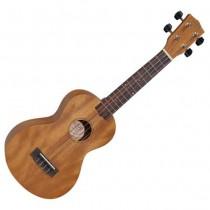 Korala UKC-36 Concert ukelele met gitaar mechanieken en een pallisander toets.