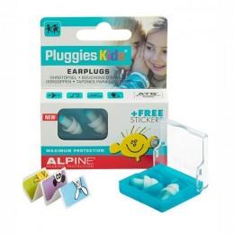 ALPINE PLUGGIES KIDS (3-12 JAAR) - GEHOOR BESCHERMING - OORDOPJES