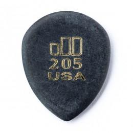 DUNLOP JAZZTONE 205 - PLECTRUM SUPER GRIP / POINT TIP