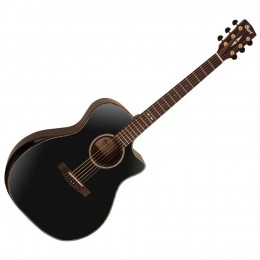 CORT GAPF-BV BKT BLACK BEVEL TOP - GITAAR WESTERN FOLK EQ CA NATURAL GLOSS BODY