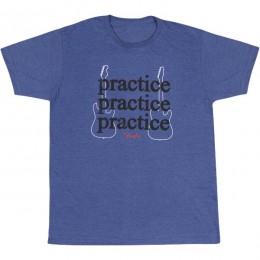 FENDER TEE 919-0703-506 LARGE - T-SHIRT PRACTICE HEATHER BLUE L