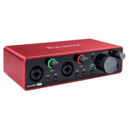 FOCUSRITE SCARLETT 2I2 3RD GEN - AUDIO INTERFACE USB 2 XLR IN /2 OUT