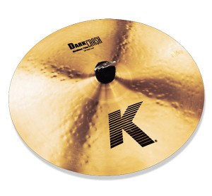 "Zidjian 16"" K Dark Crash Medium thin bekken."