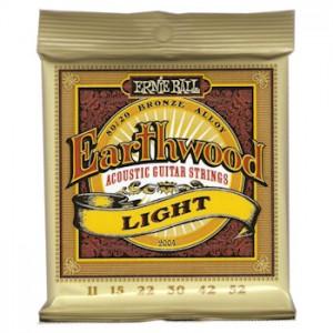 ERNIE BALL 2004 EARTHWOOD LIGHT - SNAREN 011-052 80/20 BRONZE
