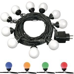 BRENNENSTUHL BN-1175296 PARTY LIGHT CHAIN - LED FEEST VERLICHTING KETTING 10MTR