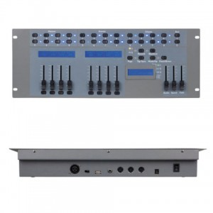 SHOWTEC LED COMMANDER PRO - CONTROLLER DMX + KANAAL DISPLAYS
