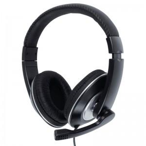 KONIG CMP-HEADSET130 - HOOFDTELEFOON OVER-EAR + MICROFOON