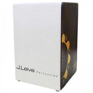 J.LEIVA PERCUSSION ZOCO 2.0 WHITE - CAJON BERKEN 48X30X32CM DTS TUNING