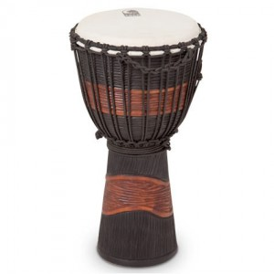 TOCA TSSDJ-MB STREET SERIES - DJEMBE MEDIUM BLACK STAIN