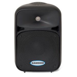 """Auro D 208, 8"""" allround lichtgewicht 200 W actieve kunststof 2-weg PA luidspreker"""