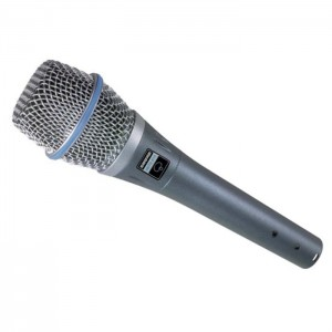 SHURE BETA 87A - MICROFOON VOCAL STAGE CONDENSATOR