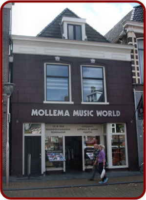 Winkelgevel Mollema Music world